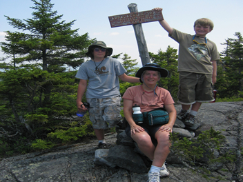 Appalachian Trail to the Peak of Pleasant Pond Mountain