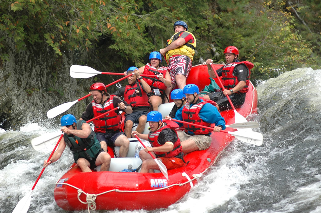 Kennebec River Rafting (Mon.- Fri.)
